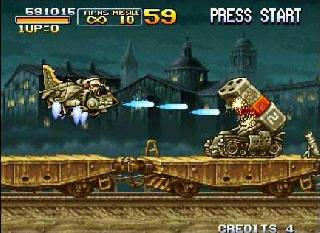 Screenshot Thumbnail / Media File 1 for Metal Slug 2 (1998)(SNK)(Jp)[!]